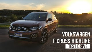 Volkswagen T-Cross Highline - Test Drive
