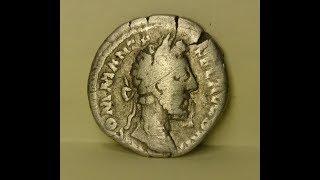 Серебряный динарий Комода. Римская империя.(ДЕМО)