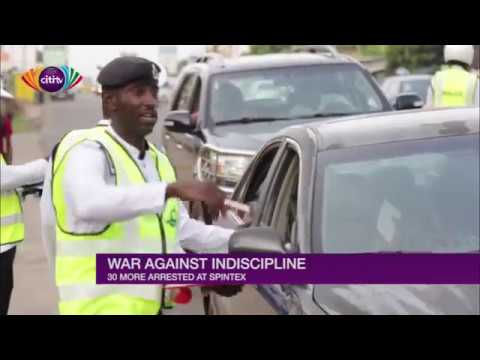 War Against Indiscipline: More drivers arrested on the Spintex Road for indisciplined acts