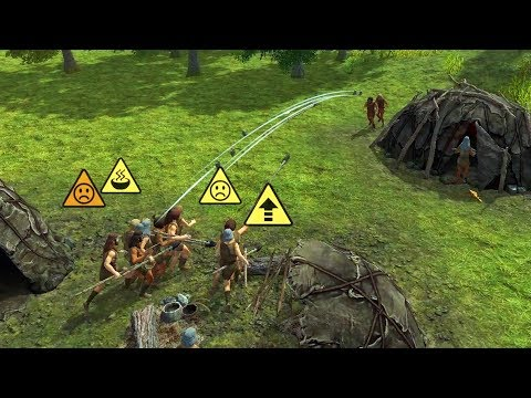 Dawn of Man - Part 4 - RIVAL TRIBE ATTACK