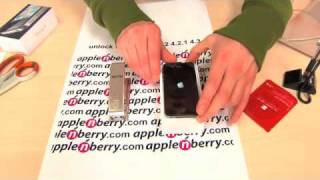 GEVEY SIM unlock iPhone 4 ios 4.3.1, 4.3, 4.2.1, 4.1