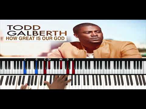 Musicians' PlayGround- How Great Is Our God x Todd Galberth - Piano Tutorial