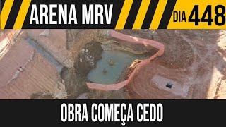 ARENA MRV | 1/6 SEMANA NA OBRA COMEÇA CEDO | 12/07/2021