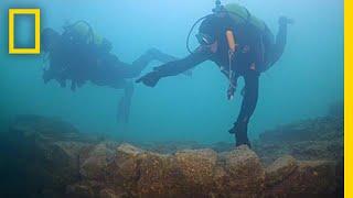 Un château vieux de 3000 ans découvert au fond d'un lac en Turquie