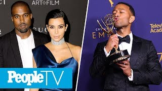 Kanye Says Kim Kardashian Is In Law School, John Legend Becomes An EGOT Winner | PeopleTV