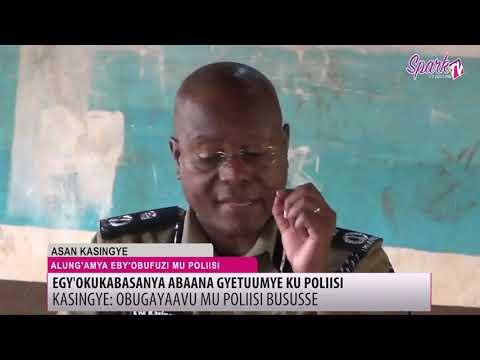 Obugayaavu mu poliisi bussuse - Kasingye