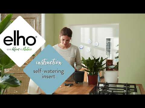 Instructions for the Self-Watering Insert