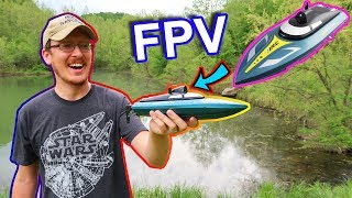 You Won't Believe this RC Boat - FPV RC Boat JJRC S4 - TheRcSaylors