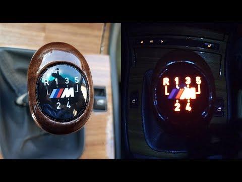 Подсветка в ручку  КПП  BMW e46