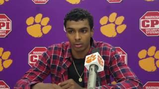 TigerNet.com - Donte Grantham post Syracuse