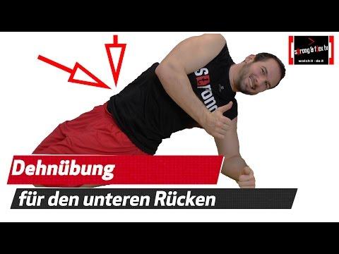 Wieviel kann der Muskel des Rückens weh tun