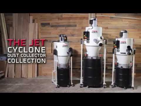 JET Cyclone Dust Collectors Overview