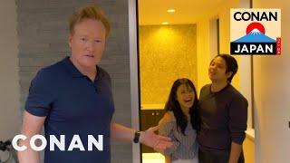 Conan Surprises Japanese Fans