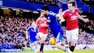 Chelsea 1 Vs 1 Manchester United 2016 Goals And Highlights