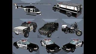 GTA San-Andreas :ТОП Полицейских машин.(S.W.A.T)