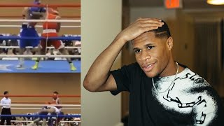 """Devin Haney LEAKS FOOTAGE OF BEATING UP Ryan Garcia LAST TIME THEY FOUGHT """"I'll call his BLUFF"""""""
