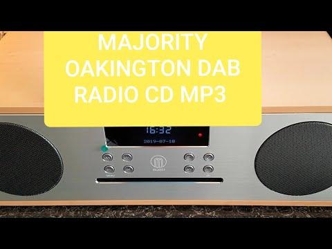 Majority Oakington Stereo CD/DAB Radio, USB etc First Look