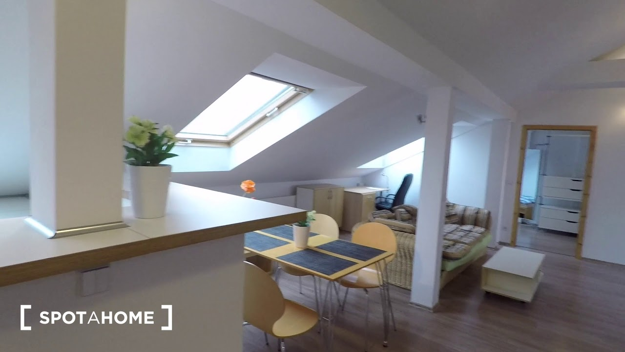 Spacious 2 Bedroom Loft Apartment For Rent In Pankow