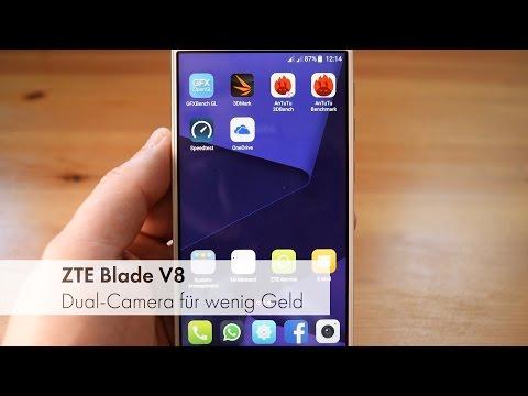 ZTE Blade V8 - Dual-Camera und Dual-SIM LTE für 250 Euro im Test [Deutsch]