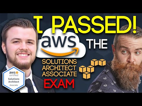 I PASSED the AWS Solutions Architect Associate EXAM!! - YouTube