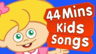 İngilizce Çocuk Şarkıları 2015   İngilizce Bebek Şarkıları   Adisebaba TV