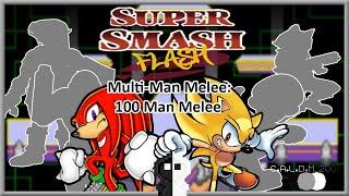 SUPER SMASH FLASH: Multi-Man Melee - 100 Man Melee Mode