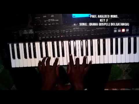 Ghana reggae piano licks (African piano moves )