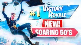 Fortnite LIVE Soaring 50s NEW 50 vs 50 Game Mode! (Fortnite Battle Royale)