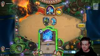 Hearthstone: Standard Play plus a bit of Arena plus a lot of me talking and puppets.