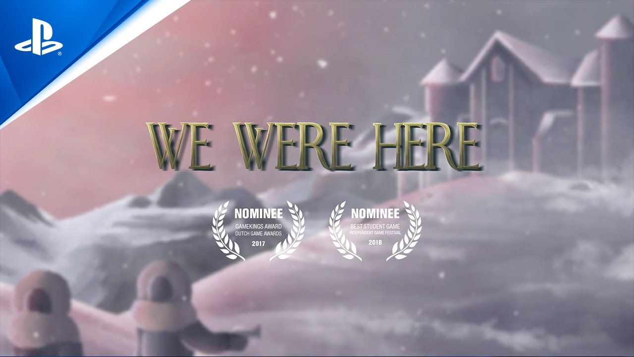 Co-op puzzler We Were Here is available on PS4 for free now