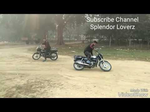 Modified Splendor In Punjab | Stunts | Modifications in India