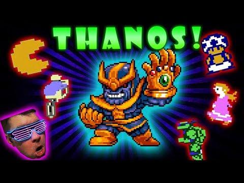 THANOS Destroys the Video Game Universe! Avengers Infinity War Gauntlet Battle