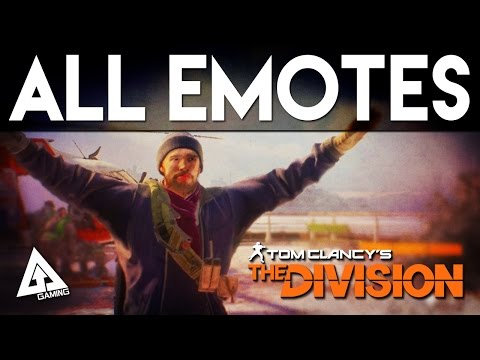 Here's Every Player Emote in The Division