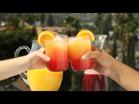 Video Berry Vodka Sunrise