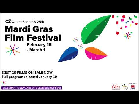 Queer Screen's Mardi Gras Film Festival 2018 Teaser Sizzle Reel