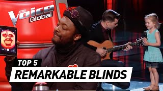 The Voice | MOST REMARKABLE Blind Auditions and FUNNIEST MOMENTS of 2017 - Video Youtube