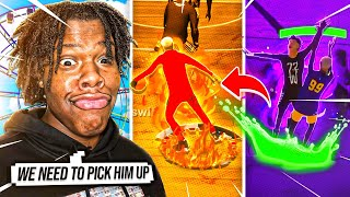 I TRIED OUT THE #1 DRIBBLE GOD ON PLAYSTATION TO JOIN TRULY BLESSED! (NBA2K21)