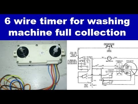 connection of washing machine timer