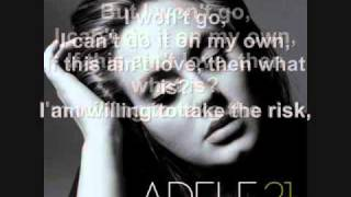 Adele - He Wont Go + Lyrics