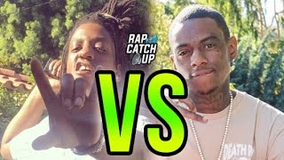 Rico Recklezz Calls Out Soulja Boy Again, In Compton & With Grape Street Crips