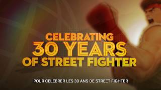 [ Street Fighter 30th Anniversary ] - Annonce - PS4, Xbox One, Switch, PC