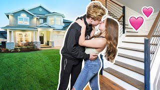 WE MOVED IN TOGETHER! **My CRUSH Reacts**🏠🥰  Lev Cameron