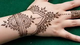 Henna Tutorial: Very Gorgeous And Easy Henna Design For Beginners