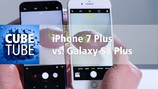 Samsung Galaxy S8 Plus vs Apple iPhone 7 Plus Vergleich (deutsch)
