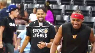 BDot GETS BUCKETS at Jbell Celeb Charity Game in Long Beach!!