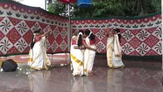 Thiruvathirakali - Ittina Neela Apts Onam Celebration 2013