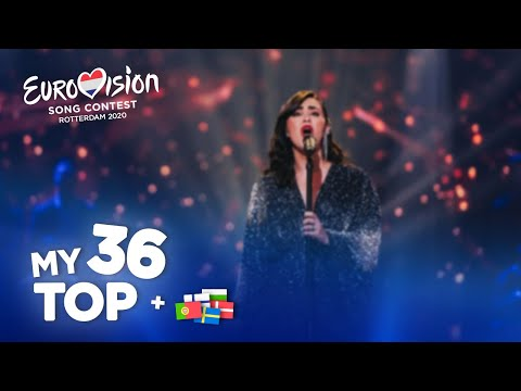 Eurovision 2020 - Top 36 (NEW: 🇵🇹🇸🇪🇩🇰🇫🇮🇧🇬)