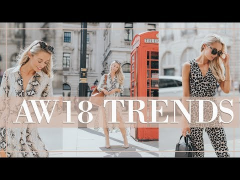 10 TRENDS FOR AUTUMN WINTER 2018 + HOW TO WEAR NOW // Fashion Mumblr
