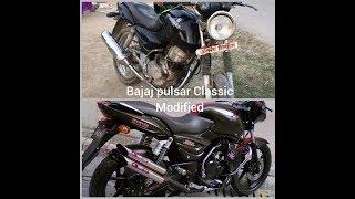 How to Bajaj Pulsar modify a bike gear - pulsar 150 modified