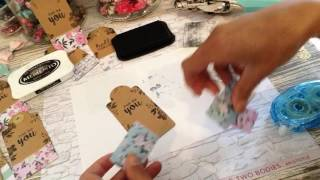 DIY Quick Idea To Decorate And Embellish Plain Tags